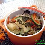 curry rouge : recette Curry de Courgettes