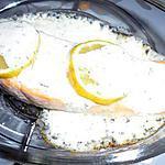 recette pavé de saumon citron - aneth