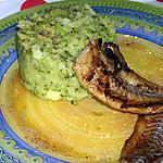 recette stoemp de pomme de terre et brocolis et filet de merlan roti