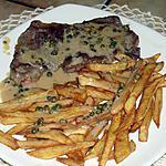 recette faux-filet sauce au poivre vert