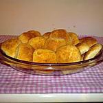 recette Petits poufs au fromage