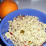recette taboulé express à l'orange