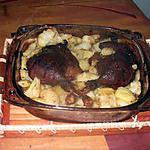 recette cuisses de canard ;pommes de terre
