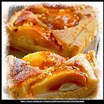 recette Tarte noisettine aux poires