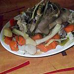 recette jarret de porc  aux légumes;;on peut mettre du veau
