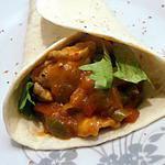fajitas (recette mexicaine)