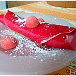 recette Crêpes, chantilly framboise & fraise Tagada ®