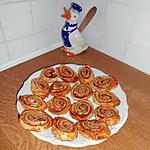 recette Feuilletés pour l'apéritf au bacon et sésame
