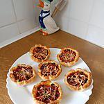 recette Mini pizzas thon, tomates,oignons, origan.