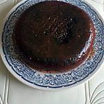 recette Gâteau à la poêle aux pépites de chocolat