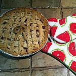 recette Succulente tarte aux fraises et pommes