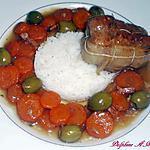 recette paupiettes de veau aux carottes et aux olives
