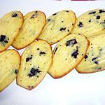 recette Madeleine aux pepites de chocolat et a l'orange