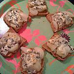 recette Tartines apéro à la fourme d'ambert,poire et miel.