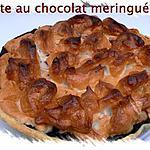 recette Tarte au chocolat meringué