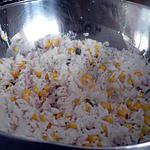 recette Salade de riz et de thon