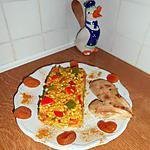 recette Poéllée de riz aux légumes épicés à la façon d'un risotto.