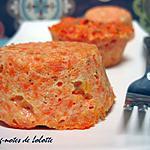 recette Terrines moelleuses aux carottes et au cumin