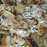 recette Les cervelles aux oignons (boeuf, porc, mouton, veau ou agneau....)