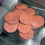 recette petit biscuit Baci di dama
