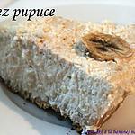 recette cheesecake  banane noix de coco