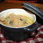 recette Gratin de Noix de St Jacques sans gluten et sans lactose