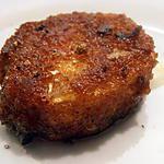 recette petits chèvres panés au pain d'épices
