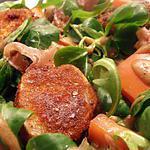 recette mâche et roquette craquantes et gourmandes