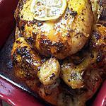 Poulet rôti à l'ail et au citron