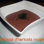recette Velouté d'haricots rouges