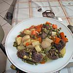 recette râgout de gésiers de canard aux légumes