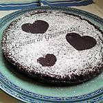 recette Gâteau au chocolat allégé [St Valentin]