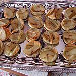 recette Bouchées poires et roquefort