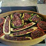 recette légumes farcis à la truffe