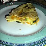 recette Quesadillas à la courgette & Quesadillas au poulet