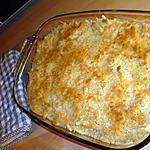 Gratin de macaronis au fromage