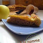 recette Petite galette avec de la pomme....