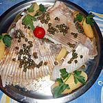 recette Aile de raie beurre noisette aux capres