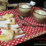 Crèmes au chocolat whisky & sa chantilly {St Valentin}