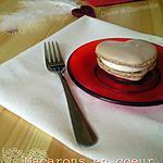 recette Macarons en coeur à la chantilly cannelle {St Valentin}