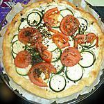 recette tarte courgette tomate boursin