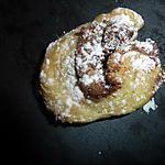 Palmier nutella coco