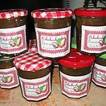 recette Confiture rhubarbe et pomme