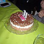 recette gâteau aux trois chocolats anniversaire de ma fille VANESSA