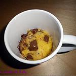 recette Mug cake cookie