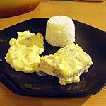recette coeurs de merlu blanc au citron, gingembre et lait de coco