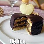 recette Délice choco-café [St Valentin]