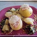 recette Pommes vapeur fonds de frigo