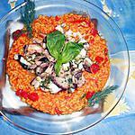 recette Seiches aux riz bomba safrané