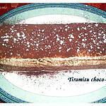 recette Tiramisu chocolat et café